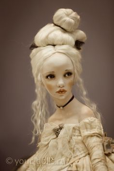 Aurora. Art doll by Alisa Filippova