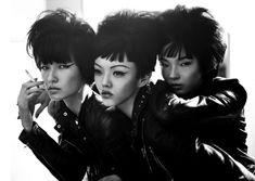 Baby Love V Magazine // P: Josh Olins // M:Wang Xiao,Rila Fukushima&Xiao Wen Ju