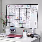Dry-Erase Calendar decal. Perfect for dorms that do not allow screws or nails in the wall. Just stick it on when you move in, and peel it off when you leave!