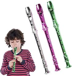 Amazon.com: ArtCreativity 13 Inch Metallic Flutes - Set of 3 - Plastic Musical Instrument for Kids - Metallic Colors - Durable Music Toys for Toddlers, Boys, Girls - Fun Gift and Birthday Party Favor for Children: Toys & Games Music Toys For Toddlers, Toddler Boy Toys, Children Toys, Educational Christmas Gifts, Cool Girl, Boy Or Girl, Girls Fun, Gifted Education, Musical Toys