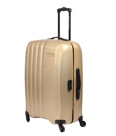 American Tourister Medium Size Stream Alfa Spinner Golden 4 Wheel Trolley 69 Cm, http://www.snapdeal.com/product/american-tourister-stream-alfa-spinner/1020087970