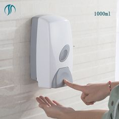 1000ml Large Plastic Hand Soap Dispenser Wall Mounting Dispensers Wall Public Area Sanitizer Dispensers Hand Liquid Dispenser  #Affiliate
