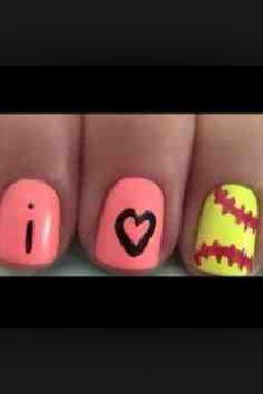 Good nails for softball players like me