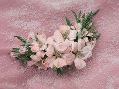 Мастер-класс. Свадебный цветок из фоамирана