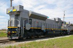 EMD Diesel Locomotive from SD70 Series in USA