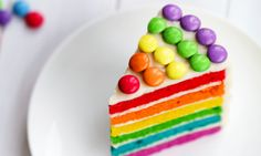 Beim nächsten Kindergeburtstag möchten Sie Jubelschreie am Kaffeetisch hören? Mit diesem Kuchen überhaupt kein Problem. Mit Schokolinsen und Lebensmittelfarbe wird der Leckerbissen zum wahren Augenschmaus.