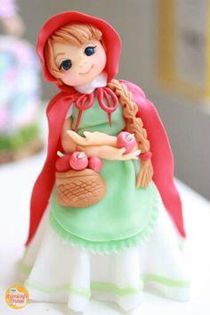 Little Red Riding Hood Topper