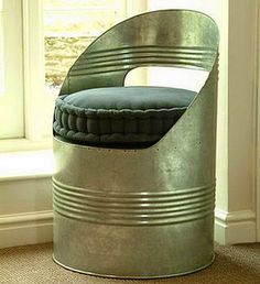 36 Recycled Scrap Metal Into Furniture Project Ideas | Do it ...