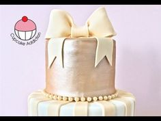 How to Make a Fondant Bow Tutorial on Cake Central