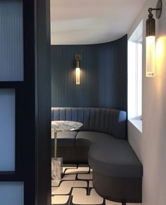 Happy Hour (is, for the record on a Thursday) A sneaky peek into our Woollahra project wine cellar. Banquet Seating, Booth Seating, Restaurant Lounge, Restaurant Design, Bar Design, Bar Interior, Interior Styling, Commercial Interiors, Interiores Design