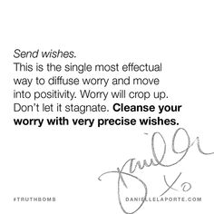 This #Truthbomb came from my post: Refuse to worry (and how to be more useful for your friends). Click to read the full post.