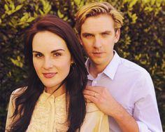 Michelle Dockery Dan Stevens - Downton Abbey.png