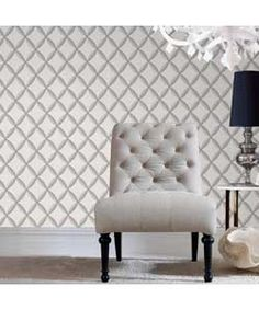 Superfresco Easy Anis Wallpaper - White.