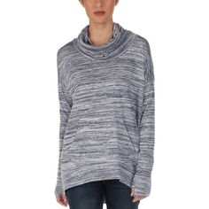 Bench Addition Crew Sweatshirt ($31) ❤ liked on Polyvore featuring tops, hoodies, sweatshirts, draped cowl neck top, bench sweatshirt, relaxed fit tops, crew-neck sweatshirts and crew neck top