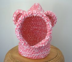 Toddler Size Hooded Cowl with Bear Ears by SweetNothingsStitch, $18.00