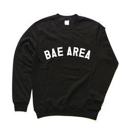 Apeos: Bae Area Sweatshirt (L or XL, for snowboarding)
