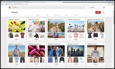 Primark maakt een goed communicatief gebruik van Pinterest. Het bedrijf heeft voor elke collectie een apart bord gemaakt. Zo kan de bezoeker duidelijk terugvinden wat hij/zij zoekt.