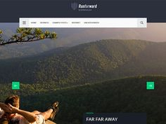 What's life without some adventure? If you love to travel and like sharing your thoughts, then get yourself a travel blog in three easy steps with the help of this premium WordPress theme. For starters, this design has a full-width slider to display your hi-def. images. This is followed by a balanced set of post design to give equal weightage to your content. The free WordPress theme is optimised for mobile and tablets thanks to its responsive design.
