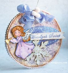 Śnieżna zamieć Decoupage, Coloring, Scrapbooking, Stamp, Christmas Ornaments, Holiday Decor, Winter, Cards, Winter Time