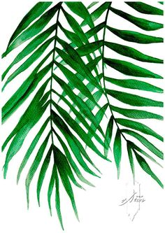 Tropical Leaves Set Set of 3 Leaves Prints Set of 3 Wall image 2 Animals Black And White, Black White Art, Leaf Wall Art, Leaf Art, Watercolor Leaves, Watercolor Print, Leaf Prints, Art Prints, Fashion Wall Art