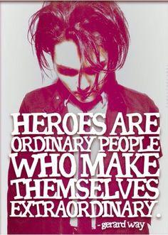 Be the hero...