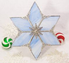 Stained Glass Star Christmas Tree Topper 1 by bitsandglassart ...
