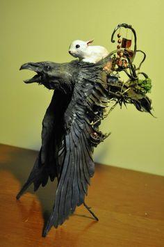 Bunny Raven 3 by Ellen Jewett