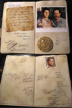 nathan drake notebook - Google Search