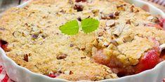 Her får du oppskriften på en nydelig pai med saftige plommer. Krispie Treats, Rice Krispies, Protein, Muffin, Breakfast, Desserts, Food, Pai, Cakes