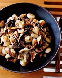 Creamed Cipollini Onions and Mushrooms Recipe, from chef Lee Hefter.