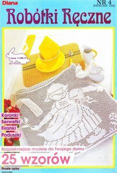 MAGAZINE: Robótki Reczne crochet magazine ♥LCB-MRS♥ with diagrams.