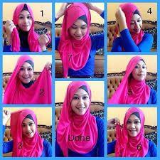 Hasil gambar untuk model hijab terbaru dan cara memakainya