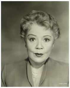 """Spring Byington ((1886–1971). The possessor of one of Hollywood's gentlest faces and warmest voices, and about as sweet as honey both on and off camera, character actress Spring Byington was seldom called upon to play callous or unsympathetic characters. Playing the part of the mother in """"Little Women"""" (1933) ignited a heartwarming typecasting that kept her employed on the screen throughout the 1930s and 1940s. (Source: IMDb)"""
