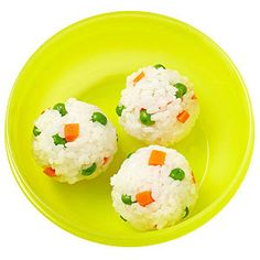 Cook short-grain rice and roll with chopped cooked veggies into balls. Cook short-grain rice and roll with chopped cooked veggies into balls. Toddler Lunches, Toddler Food, Kid Lunches, School Lunches, Healthy Lunches, Kids Lunch For School, Lunch Menu, Lunch Box, Cooking With Kids