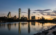 Titanium y Costanera Center - Dos Gigantes de Sudamérica by Larry Laurex, via Flickr