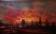 Kim Keever's sublime landscapes have the appearance of the historical paintings of Rosa, Turner and Joseph Wright. Description from imaginedlandscape.blogspot.com. I searched for this on bing.com/images