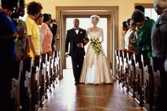 Who Walks When During a Wedding Processional