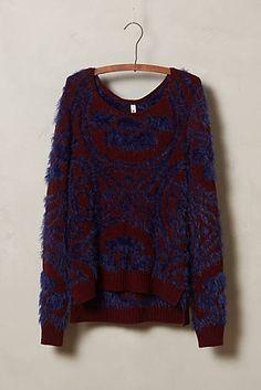 Eyelash Stitch Sweater