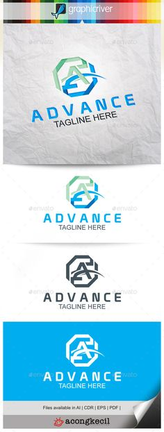 Advance V.5 - Letters Logo Templates