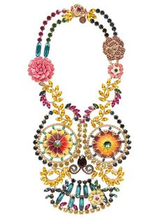 REMINISCENCE - FRIDA NECKLACE - LUISAVIAROMA - LUXURY SHOPPING WORLDWIDE SHIPPING - FLORENCE