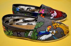 Lion king epic painted shoes