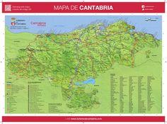 Mapa De Asturias Y Cantabria Juntos.Las 14 Mejores Imagenes De Cantabria En 2015 Orientales