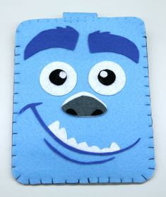 Monsters University Mike Handmade felt phone case by MyOwnDoll,