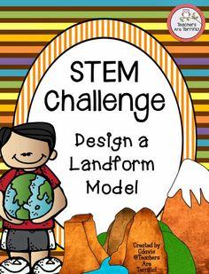 Can You Build A Landform Model Stem Challenge  Science