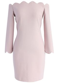 The Era of Your Charm Off-shoulder Shift Dress in Pink - New Arrivals - Retro, Indie and Unique Fashion