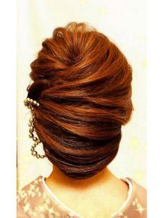 ヘアーメイクアンドネイル エフプラス(hairmake&nail F PLUS)【F PLUS!】ネープシニヨン