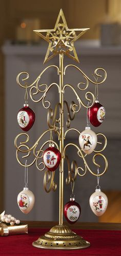 Images about yule ornament display stands on