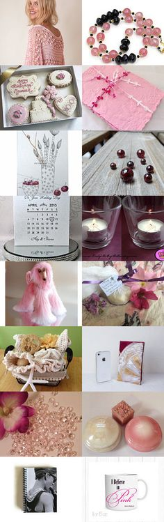 Life in Pink Hues by spoiledfelines1 on Etsy--Pinned with TreasuryPin.com #promotingwomen