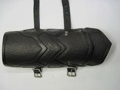 more for the zombie apocalypse - leather bracers. keep them at bay with your forearm while reaching for your weapon