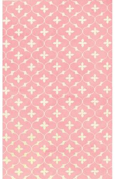 The Rug Market Kids Coco Pink Rug from Rugs USA #home decor